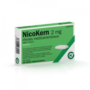 NICOKERN 2 MG 108 CHICLES...