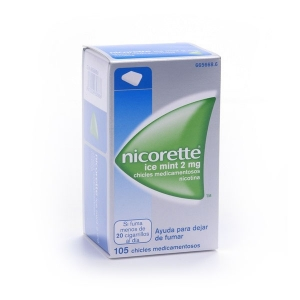 NICORETTE ICE MINT 2 MG 105...