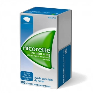 NICORETTE ICE MINT 4 MG 105...