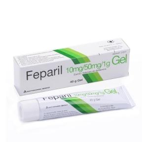 FEPARIL GEL GEL TOPICO 40 G