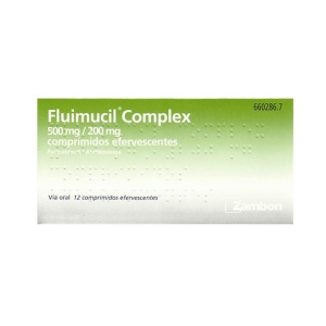 FLUIMUCIL COMPLEX 500/200...