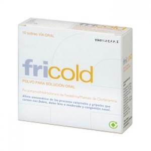 FRICOLD 10 SOBRES