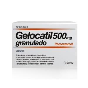 GELOCATIL 500 MG 12 SOBRES...