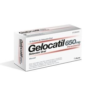 GELOCATIL 650 MG 12 SOBRES...