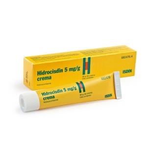HIDROCISDIN 5 MG/G CREMA 30 G