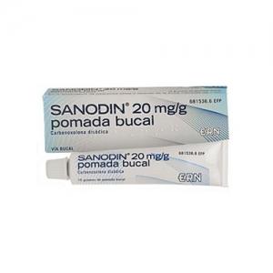 SANODIN 2% POMADA BUCAL 15 G