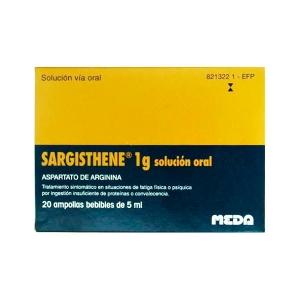 SARGISTHENE 1 G 20 AMPOLLAS...