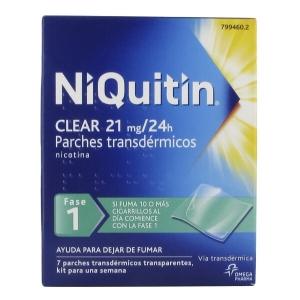 NIQUITIN CLEAR 21 MG/24 H 7...