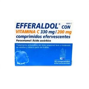 EFFERALDOL CON VITAMINA C...