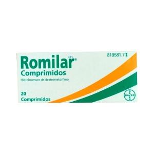 Romilar 15 Mg 20 Comprimidos