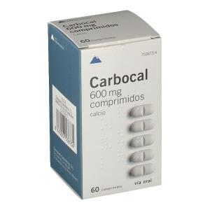 CARBOCAL 600MG, 60 COMPRIMIDOS