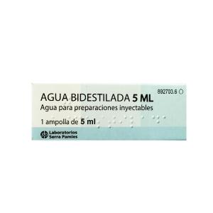 AGUA BIDESTILADA SERRA 1...