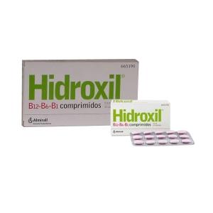 HIDROXIL B1 B6 B12 30...