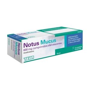 NOTUS MUCUS 600MG  - (20...
