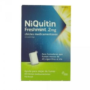 NIQUITIN FRESHMINT 2 MG,...