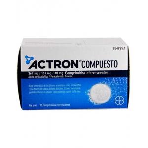 ACTRON COMPUESTO 267 MG/133...